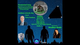 Paranormal Soup ep 154 guest Terry Lovelace guest co-host Heather Wade