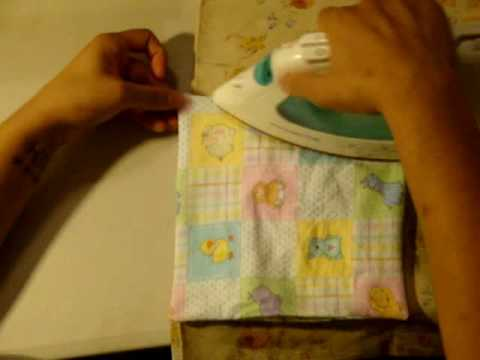 Sewing Lessons: How to make Cloth Wipes- 2 techniques