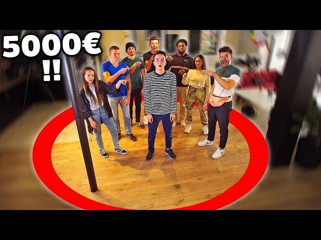 LE DERNIER QUI SORT DU CERCLE GAGNE 5000€ (ft. FastGoodCuisine, Scoot 2 Street, Maile Akln, Lonni..)