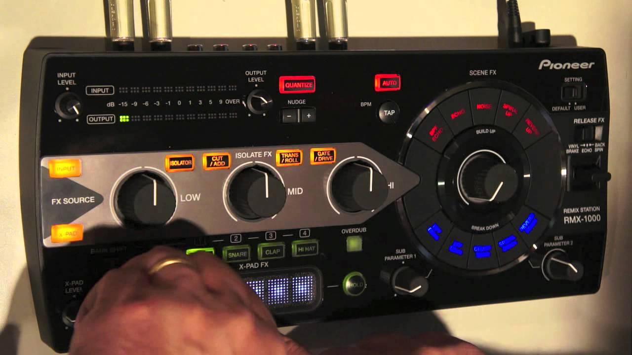 Pioneer RMX-1000-W White