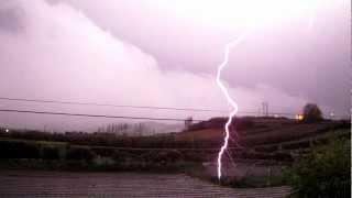 Lightning strike close call? [HD]