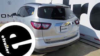 Best 2015 Chevrolet Traverse Trailer Hitch Options