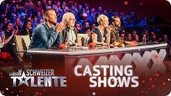 Die grössten Schweizer Talente - 1. Castingshow - #srfdgst