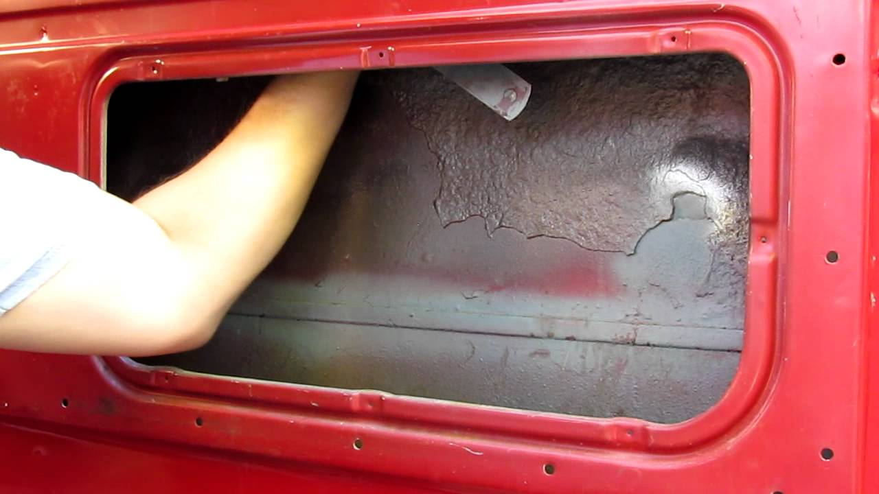 03 Disconnect Window From Regulator Scott S1956 Ford F100 Youtube