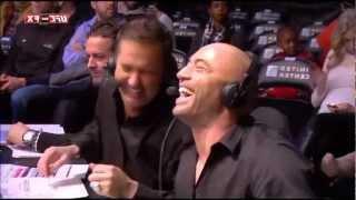 Awkward/Funny Joe Rogan & Mike Goldberg Moment