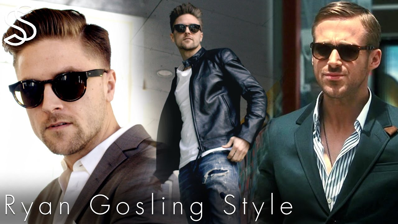 Ryan Gosling Haircut Mens Summer Fashion Inspiration Youtube