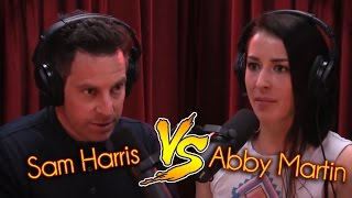 Sam Harris Vs. Abby Martin