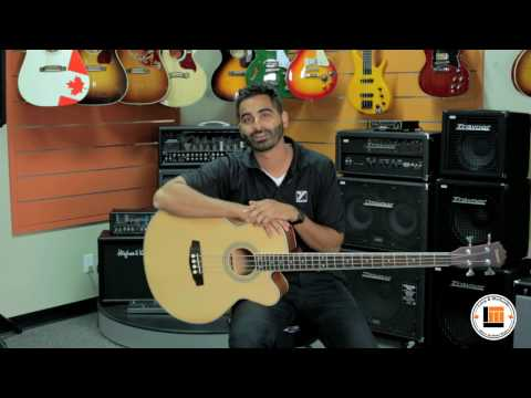Denver DB44SCE Acoustic Electric Bass [Product Demonstration]