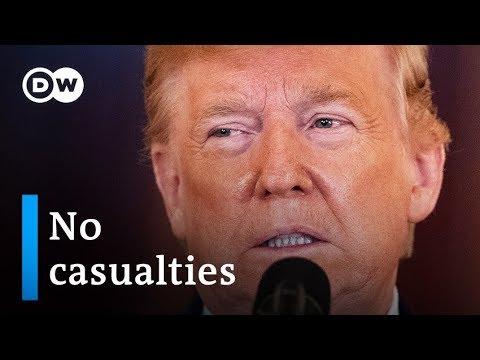Trump delivers statement