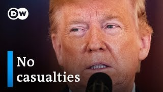 Trump delivers statement on Iran attack on US bases: What now? | DW News