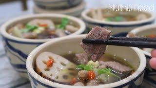 Bò tiềm thuốc bắc, món ngon bổ dưỡng || Natha Food