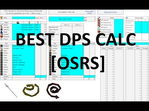 DPS Calculator, NMZ exp rates Calculator find out which items are