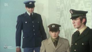 Blau oder Grün: Polizeiuniformen heute und früher   Schwaben & Altbayern   BR Fernsehen