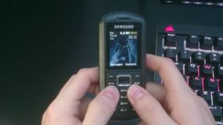 Repeat youtube video Skyrim theme song but it's played on an old samsung phone