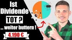1.000 € für passives Einkommen reingebuttert, Ziel: 1.000 € im Monat | Dividenden Ep. 2