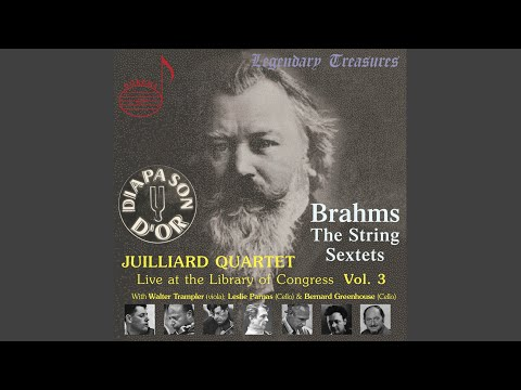 String Sextet No. 1 in B-Flat Major, Op. 18: I. Allegro ma non troppo (Live)