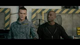 Furious Seven - Funny Roman the Leader Scene 1080p