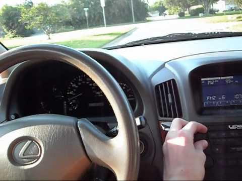 1999 Lexus RX300 Overview