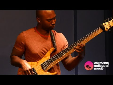 California College of Music: Anthony Crawford Artist Clinic w/Gergo Borlai
