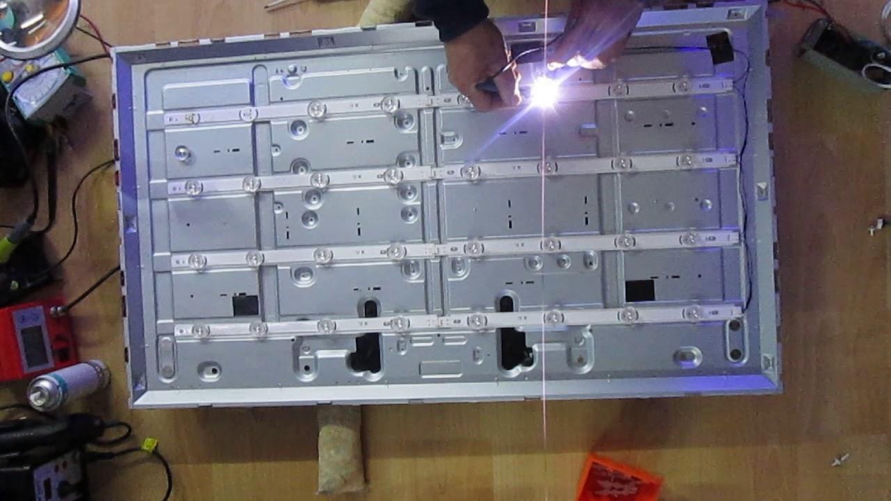 testare barre led tv con pochi euro parte 3 di 3