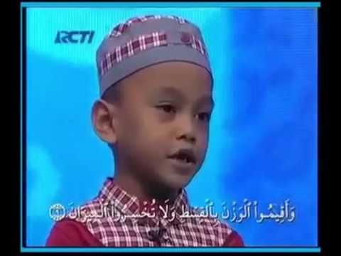 Hafiz Indonesia 2014, Musa, 5 tahun, hafal 29 juzuk Al-Quran, membuatkan juri menangis