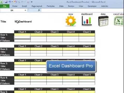 Excel Dashboard Pro Quick Tutorial