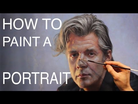 How To Paint A Portrait: EPISODE FOUR - Painting The Paint M