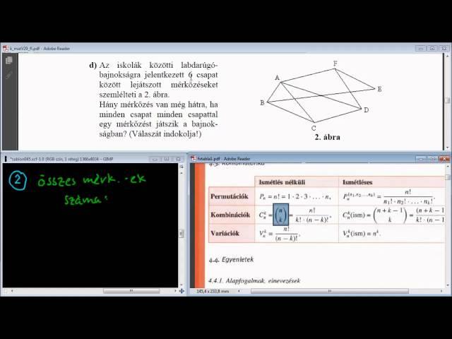 14/d Feladat - Gráfok / kombinatorika