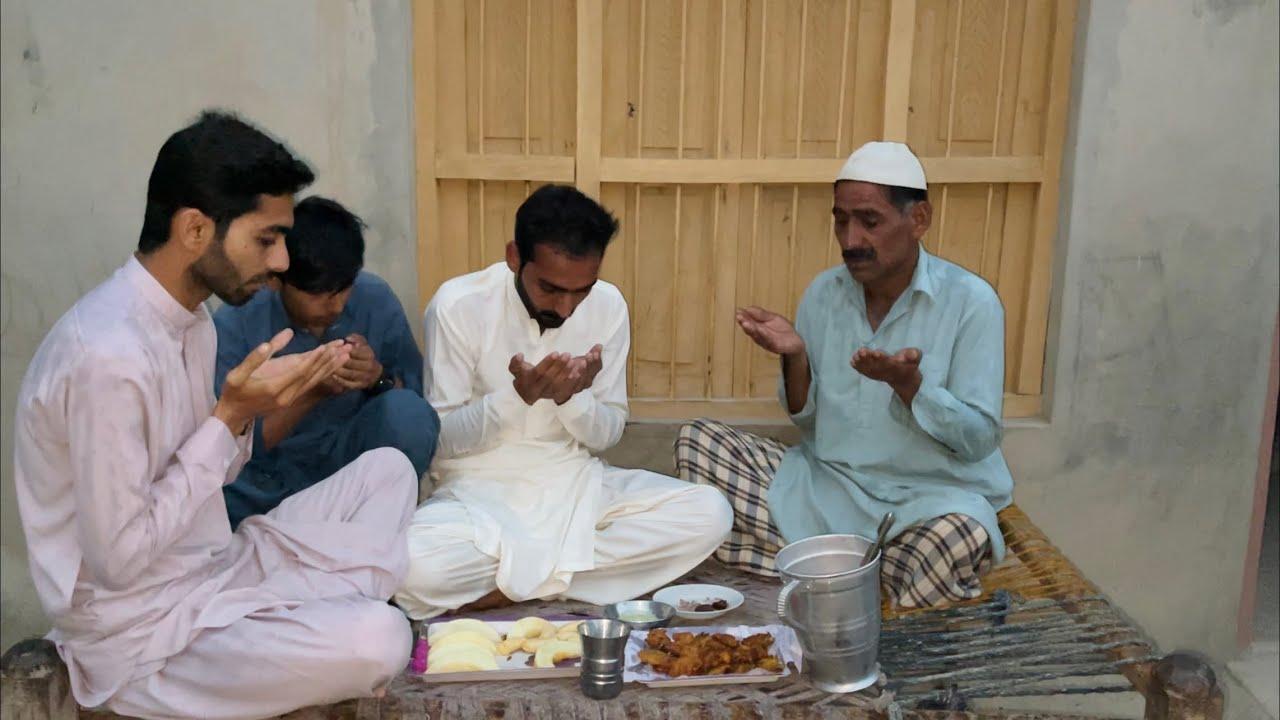 3rd Iftari Done With Abu Je | Village Simple Iftari | Iftari Vlog