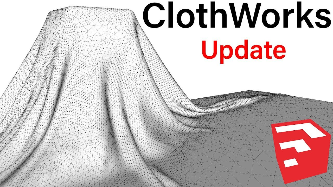 SketchUp Plugin ClothWorks New Features
