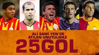 ⚽ Ali Sami Yen Stadı'nda atılmış en güzel 25 gol - Galatasaray