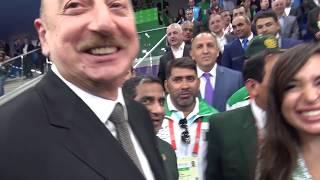 Nikolay Korovinin təqdimatında 4-cü İslam Həmrəyliyi Oyunlarının karate yarışları haqqında film