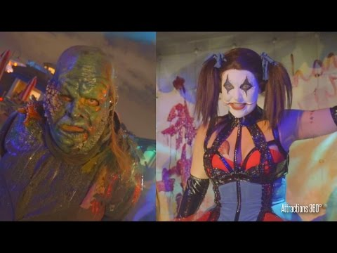 All the Scare zones at Universal Orlando Halloween Horror Nights 2016