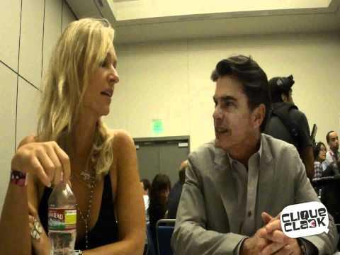 Covert Affairs - Kari Matchett And Peter Gallagher At San Diego Comic-Con 2011