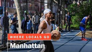 The legendary West Fourth basketball courts, aka