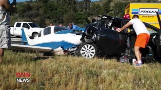 بالفيديو والصور.. مصرع وإصابة 6 في حادث تحطم طائرة خفيفة بولاية كاليفورنيا الأمريكية