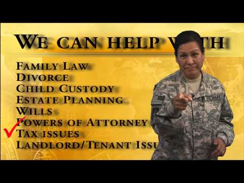 Army Judge Advocate General Corps Legal Assistance ASG KU infomercial
