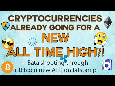 Cryptocurrencies - New all time high ALREADY? Quality coins doing great!
