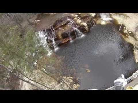 ZipQuest Treetop and Waterfall Adventure, March 2017