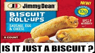 Jimmy Dean Sausage Egg & Cheese Biscuit Roll-Ups - Is it Just a Biscuit? - The Wolfe Pit