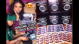 BOSS LIFE OF ANNA | CUSTOM EYELASH PACKAGING | WHOLESALE ITEMS & MORE !