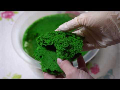 Essbares Moos - Rezept I edible moss - recipe
