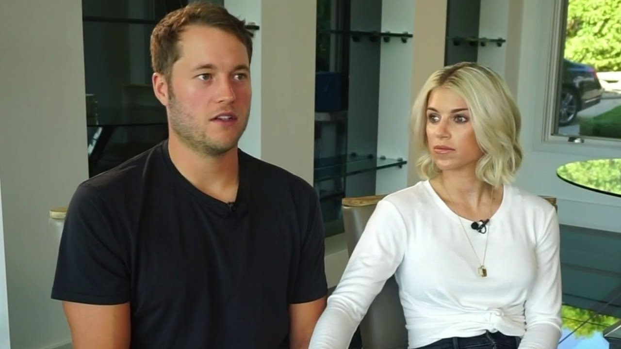 Matthew Stafford's Wife Kelly Stafford Battled Through Tumor