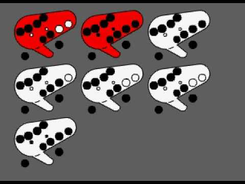 How To Play Song Of Storms: 12 Hole Ocarina