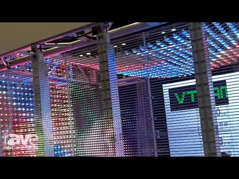 InfoComm 2015: Vteam Shows the G10/12 Transparent Glass LED Screen
