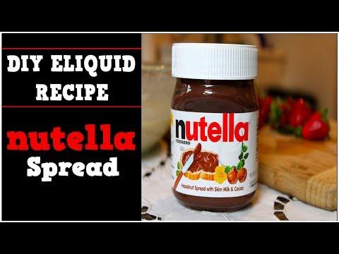 DIY Eliquid – Nutella Spread 70%VG (DIY Nutella flavor and eJuice Recipe)