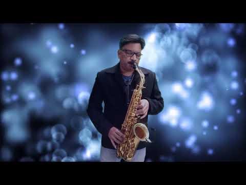 409:- Main Tujhe Chhod Ke - Saxophone Cover   Kumar Sanu   Trinetra