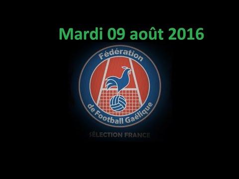 France GAA - World Gaelic Games 09.08.2016