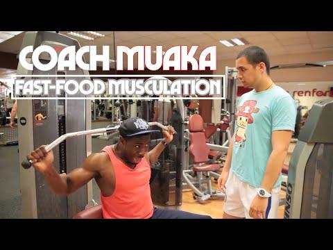 "Coach Muaka - ""Musculation Fast Food"""
