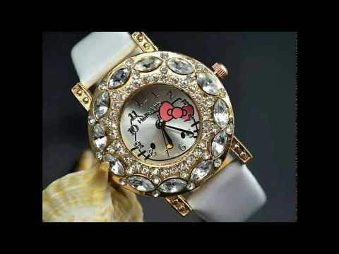 Stylish Antique Jewel Watches For Women Wrist watches Fashion Jewellery Designs